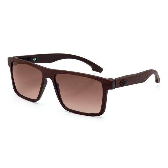 Oculos-Mormaii-Banks-Marrom-Madeira-Fosco-Lente-Marrom-M0050J4734