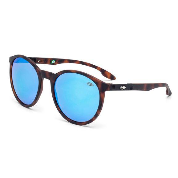 b94a33c96a944 Óculos Mormaii Maui Demi Marrom Fosco Lente Azul - M0035F7097 - Marrom