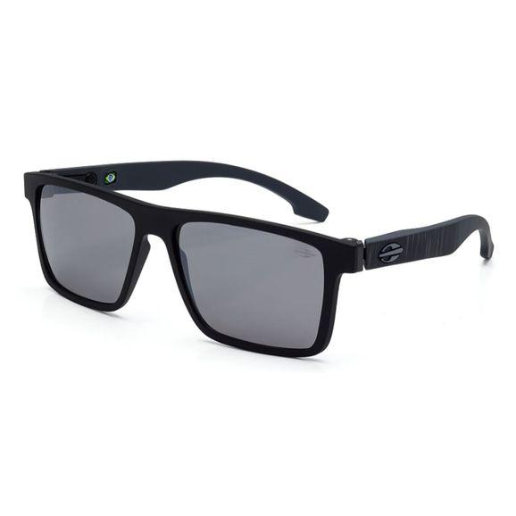 af4189e726062 Óculos Mormaii Banks Preto Fosco Haste Cinza Escuro - M0050ACL09 - Preto  Fosco