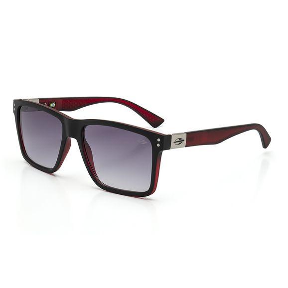 Oculos-Mormaii-Cairo-Preto-Vermelho-Fosco-Lente-Cinza-M0075AFT33