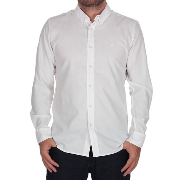 Camisa-Volcom-Oxford-Stretch