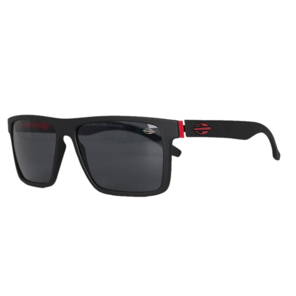 d3023cfc5ac6a Óculos Mormaii Banks Preto Fosco Vermelho - centralsurf