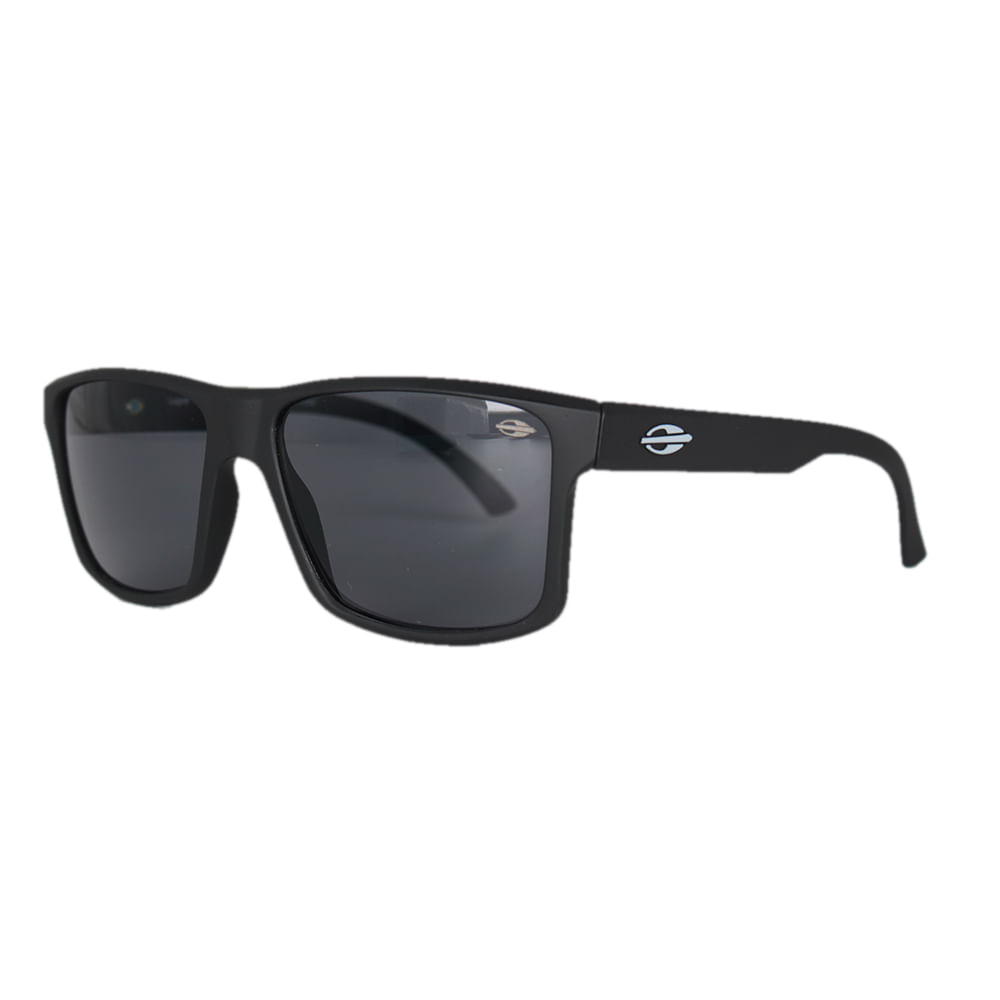 Óculos Mormaii Lagos Preto Fosco Lente Cinza - centralsurf 36dad3b3a50