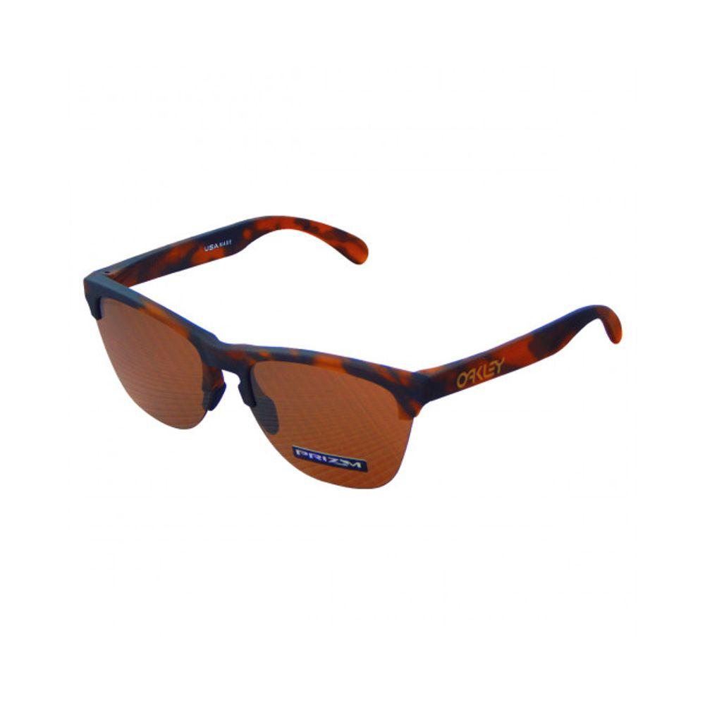c7d47b7d4 Óculos Oakley Frogskins Lite Mat Brw Tort W/prizm - Oo9374-11 ...