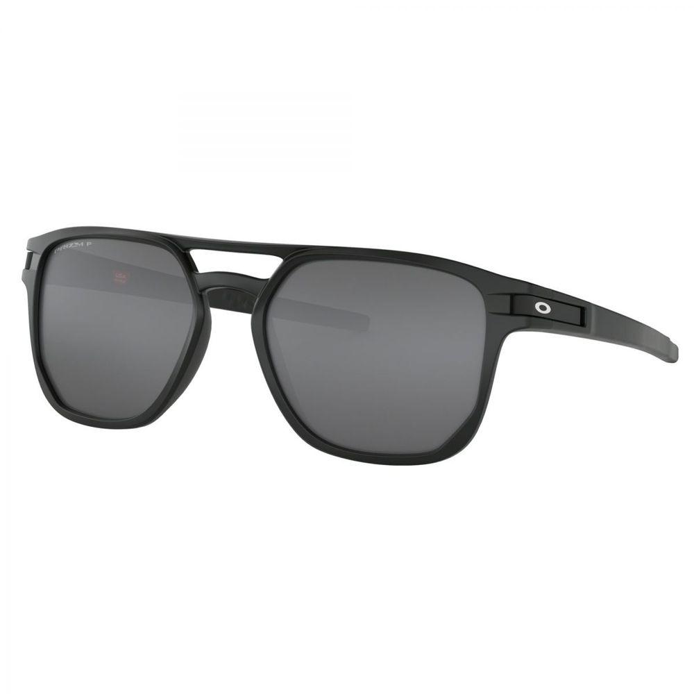 Óculos Oakley Latch Beta Matte Blk W  Prizm Blk Polarizado - Oo9436 ... 6018f552bb