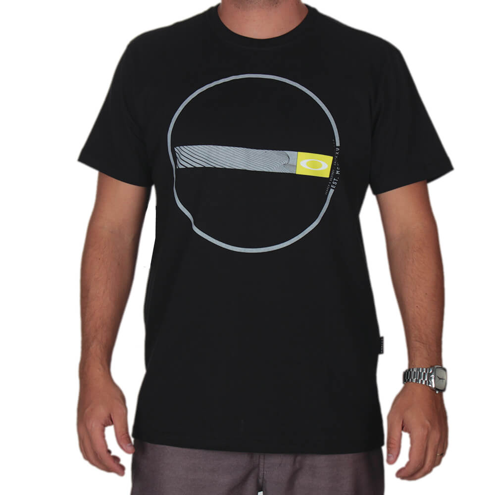 67de4b91f474c Camiseta Estampada Oakley - centralsurf