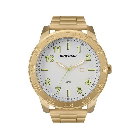 a5c0862524446 Relógio Mormaii Mônaco MO2115BE4B - Dourado