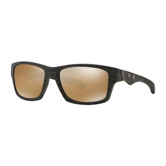 92ef8f0a507d1 Óculos Oakley Jupiter Squared Wood Grain Tungstain lridium Polarizado -  009135-07 - Marrom