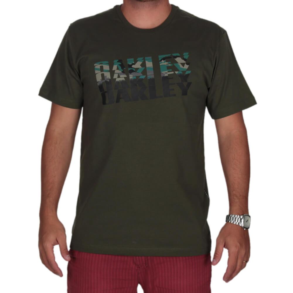 Camiseta Oakley Bark Camo Tee - centralsurf 09161f1964