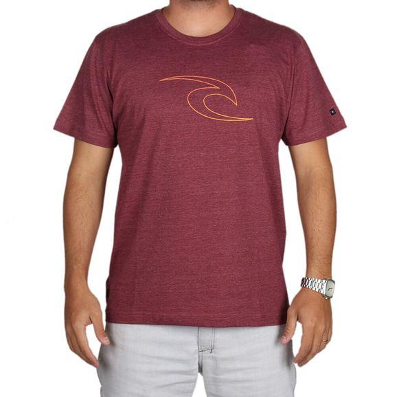 68f10e9c8d8bb Camiseta Rip Curl Estampada - Vermelho