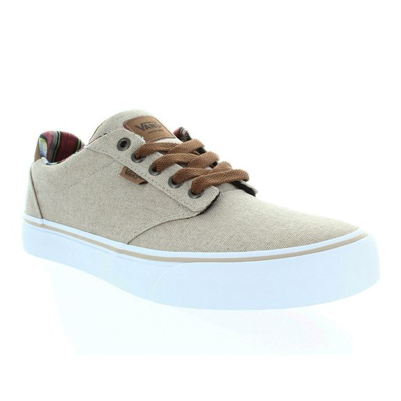9a3d9e6bb79 Tênis Vans Atwood Deluxe - VN0A3WKWVEN - Bege