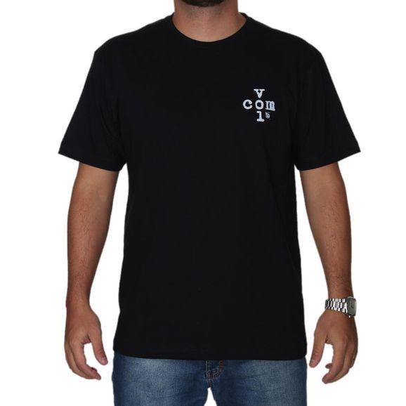 Camiseta-Volcom-Estampada-Cross