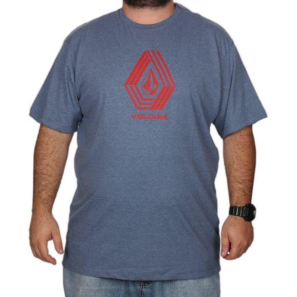 Camiseta-Volcom-Cycle-Stone-Tamanho-Especial