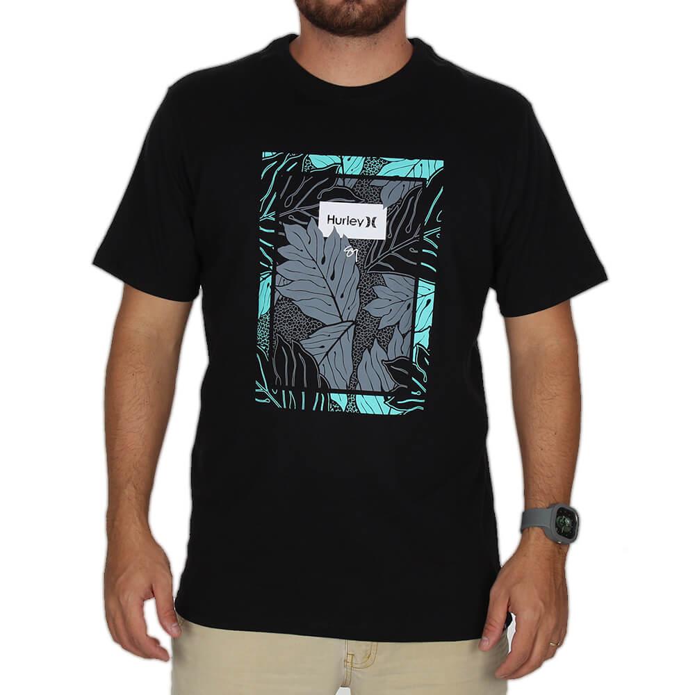 7a3c7b27b Camiseta Hurley Ululoa Sig Zane - centralsurf