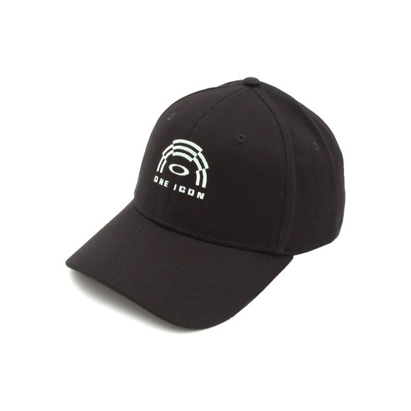 Bone-Oakley-Panel-Logo-Hat