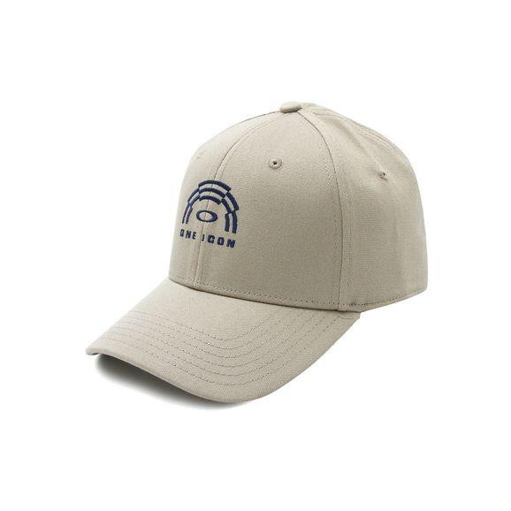 Bone-Oakley-Panel-Logo-Hat