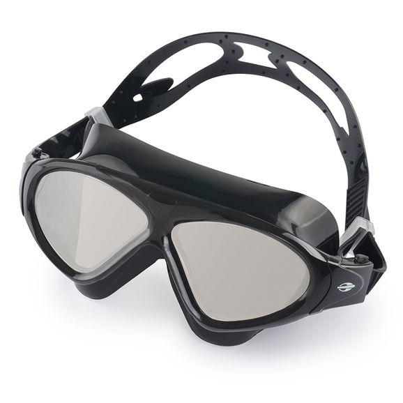 56557a052 Óculos De Natação Mormaii Orbit - Preto lente Espelhada