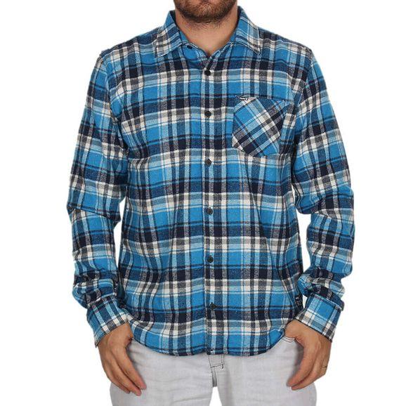 Camisa-Manga-Longa-Hurley-Plaid