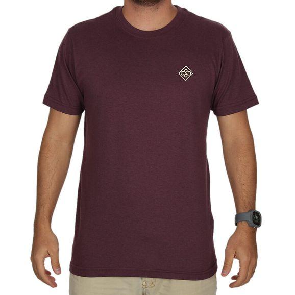 c0c5590e2 Camiseta Estampada Central Surf - Vinho