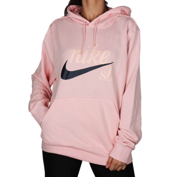 76ec54c335 Moletom Nike Sb Hodie Washed Icon - Rosa