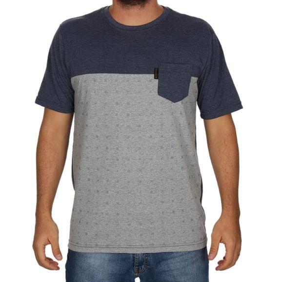 57f4f81266 Camiseta Freesurf Blue - Cinza/azul