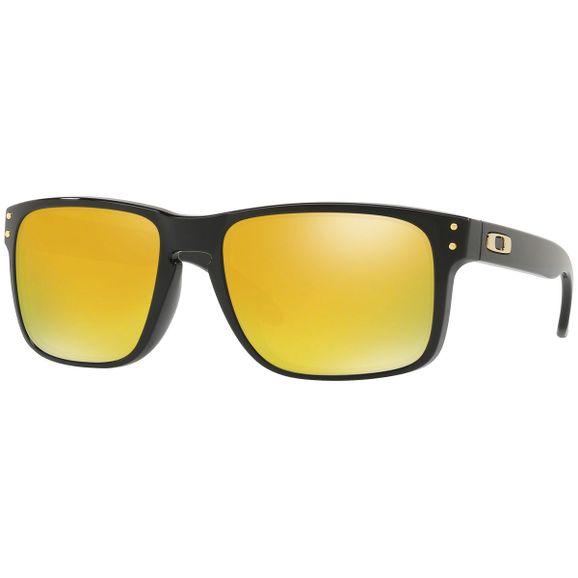 Oculos-Oakley-Holbrook-Polished-Blk-W-24k-Iridium-OO9102-E3