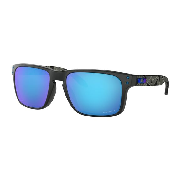 Oculos-Oakley-Holbrook-Matte-black-Prizmatic-Collection-W-Prizm-Sapphire-Polarizado