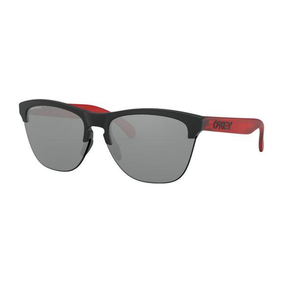 Oculos-Oakley-Frogskins-Lite-Urban-Collection-Matte-black-trans-red-W-Prz-Black-