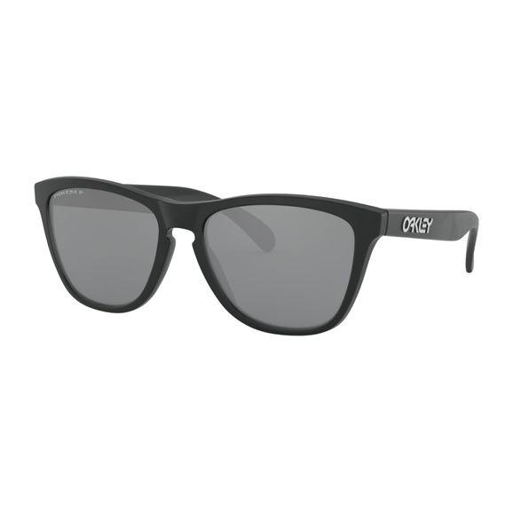 Oculos-Oakley-Frogskins-Matte-Black-W-Prizm-Black-Polarizado-OO9013-F7