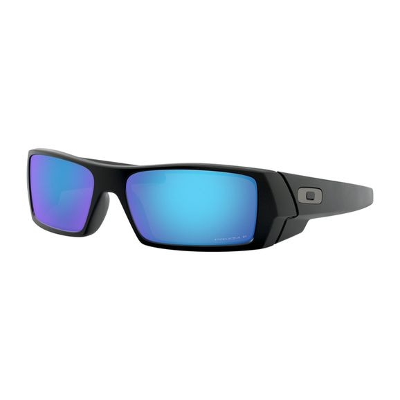 Oculos-Oakley-Gascan-Matte-Black-W-Prizm-Sapphire-Polarizado