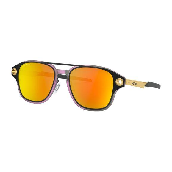 Oculos-Oakley-Coldfuse-Matte-Black-W-Prizm-Rubi-Polarizado