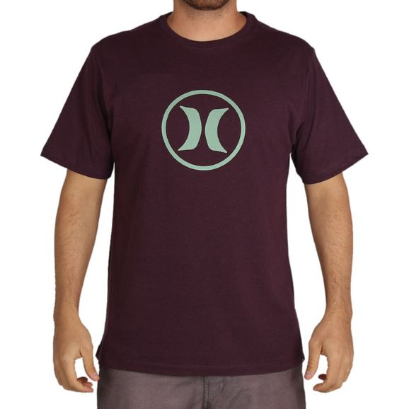 Camiseta-Hurley-Circle-Icon