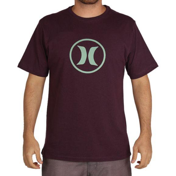 Camiseta-Hurley-Circle-Icon