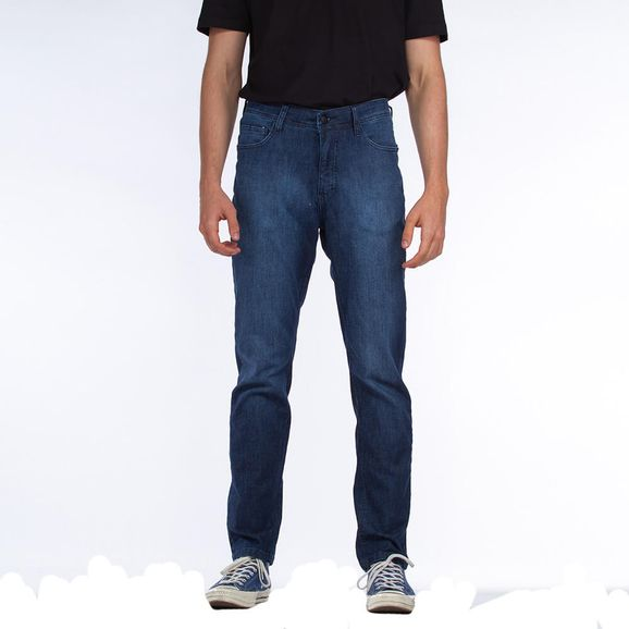 Calca-Jeans-Lost-Denim-Slim-Blue-Black