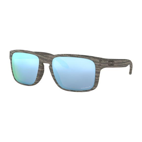 Oculos-Oakley-Holbrook-Woodgrain-W-Prizm-Deep-Water-Polarizado