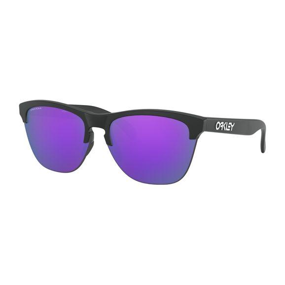 Oculos-Oakley-Frogskins-Lite-Matte-Black-W-Prizm-Violet