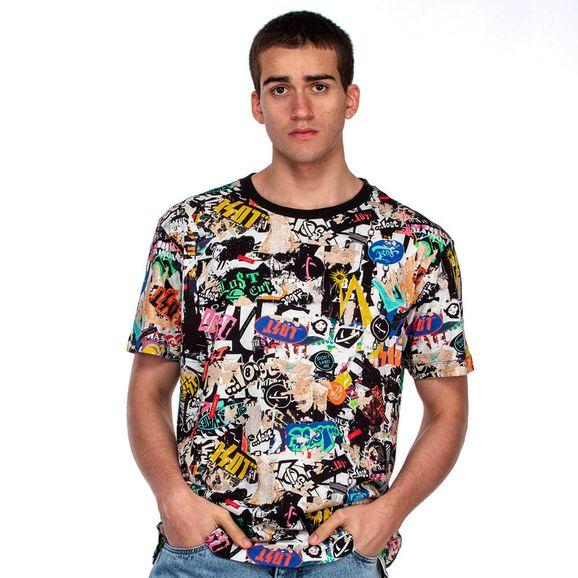 Camiseta-Lost-Stickers-Mania