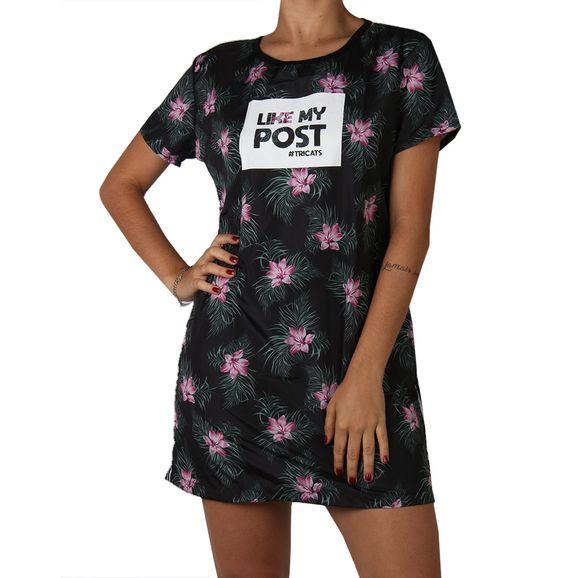 Vestido-Camiseta-Tricats-Compose-Tropical-Vibes