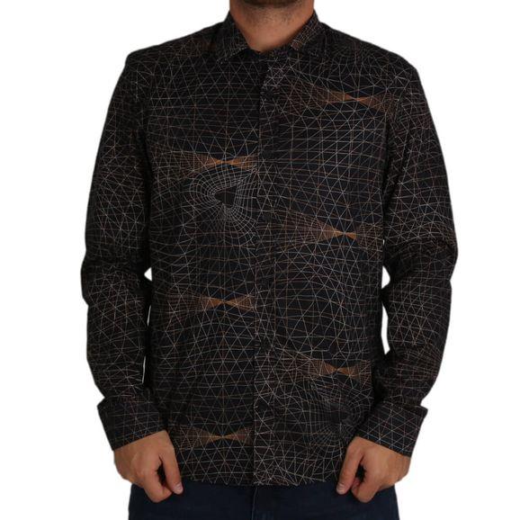 Camisa-Grid-Mcd-Manga-Longa