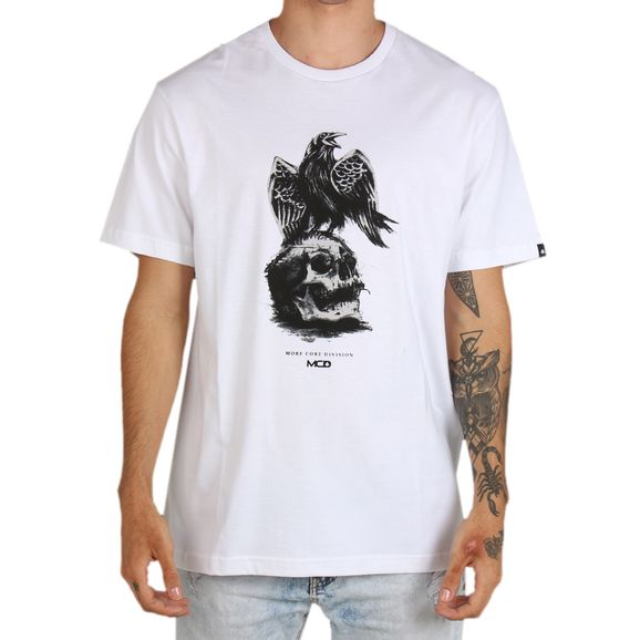 Camiseta-Regular-Mcd-Crow-e-Skull