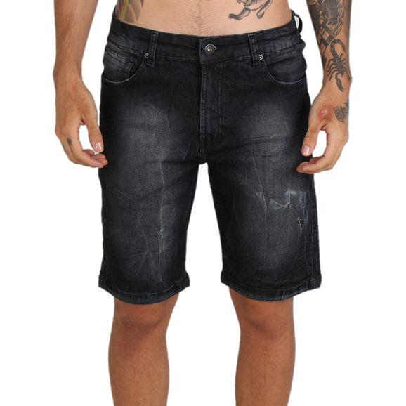 Bermuda-Jeans-Mcd-Slim-Black