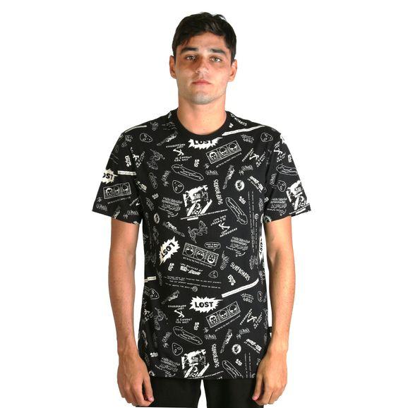 Camiseta-Lost-Funzine-Icons