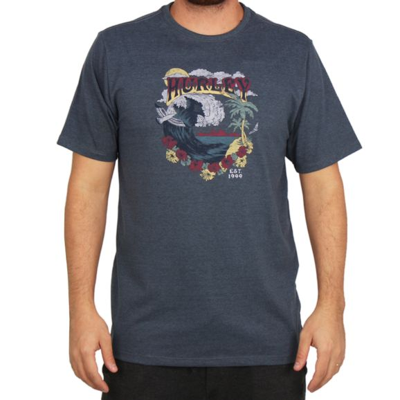 Camiseta-Hurley-Flower-Tubing