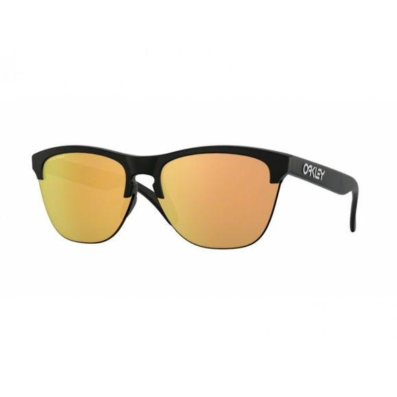 Oculos-Oakley-Frogskins-Lite-Matte-black-W--Prizm-Rose-Gold-OO9374-26-0