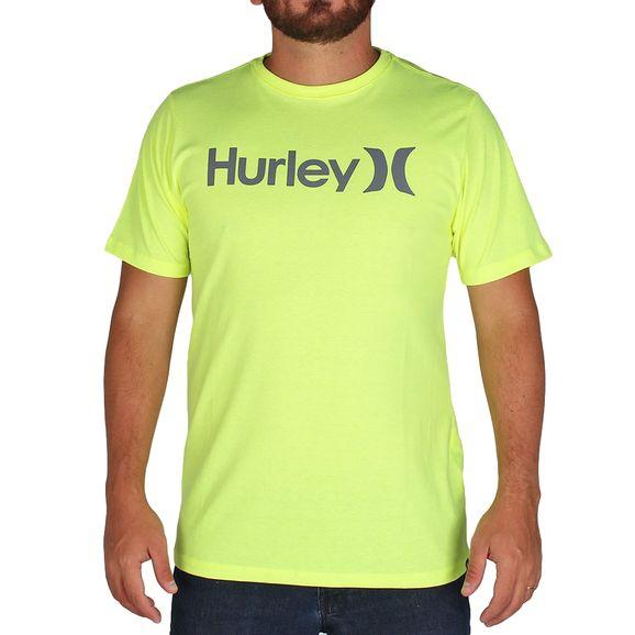 Camiseta-Hurley-O-O-Solid-Neon-0