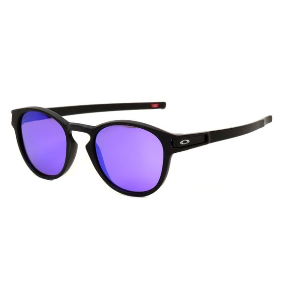 Oculos-Oakley-Latch-Matte-Black-W--Prizm-Violet-OO9265-55-0