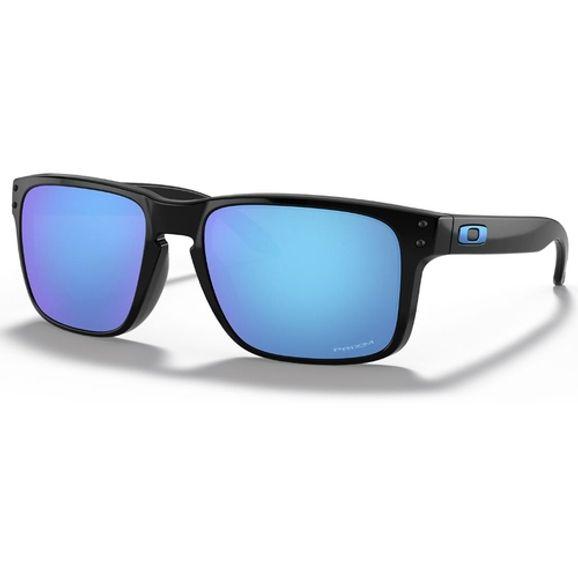 Oculos-Oakley-Holbrook-Polished-Black-W--Prizm-Sapphire-OO9102-F5-0